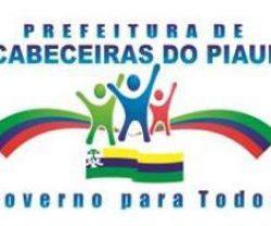PREFEITURA DE CABECEIRAS-PI